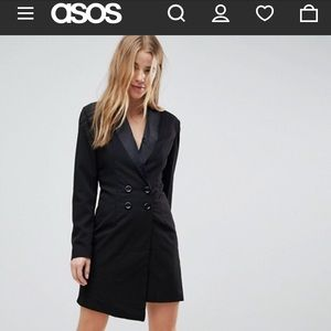 Boohoo Tailored Blazer Dress US8